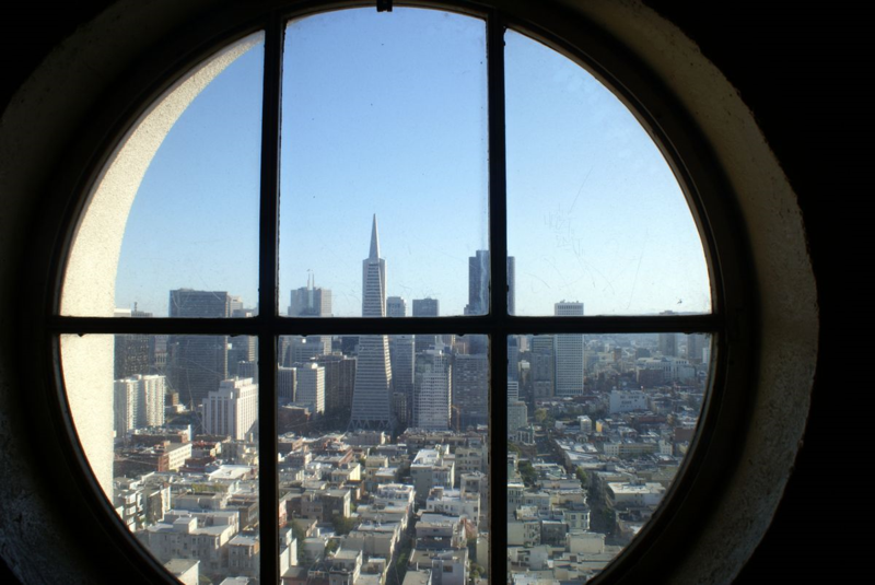 View from Coit Tower San Francisco