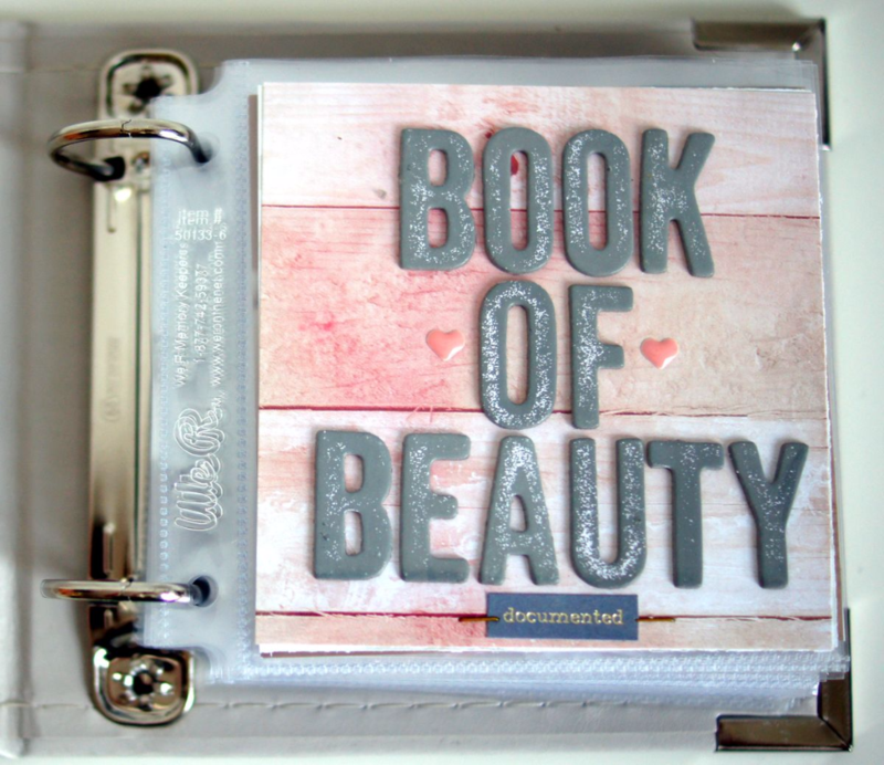 Mini Book of Beauty