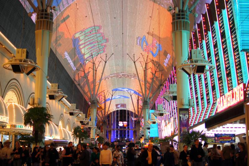 Freemont Street Experience Las Vegas
