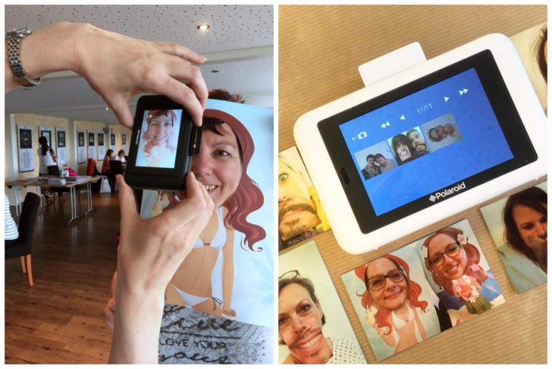 Scrap Impulse Die Polaroid Snap Touch Sofortbildkamera Und