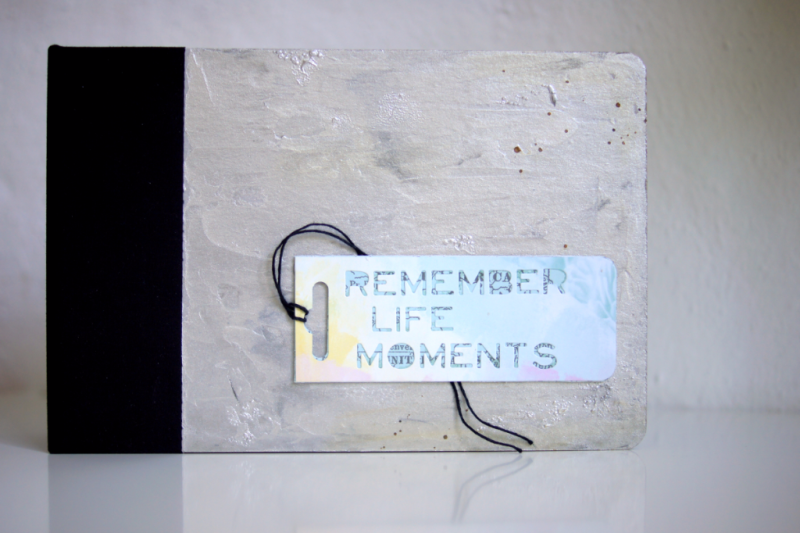 Mini Album Cover Mixed Media Vicky Boutin Glaze