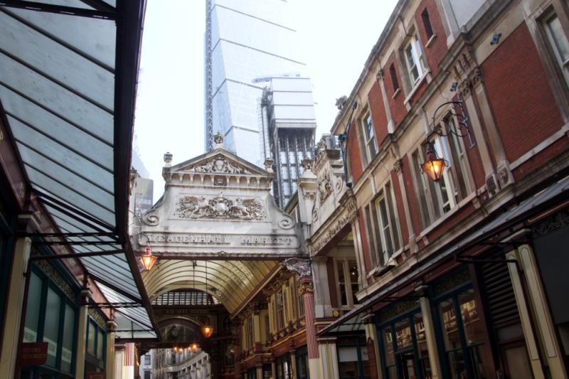 Leadenhall Market- Londons Winkelgasse