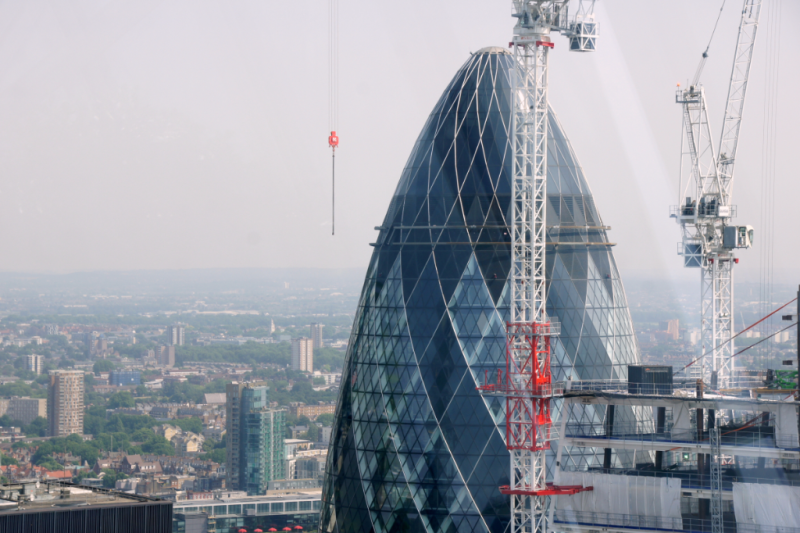 The Gherkin View from Skygarden London