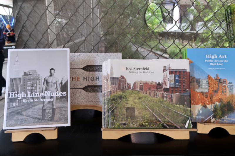 High Line NYC books