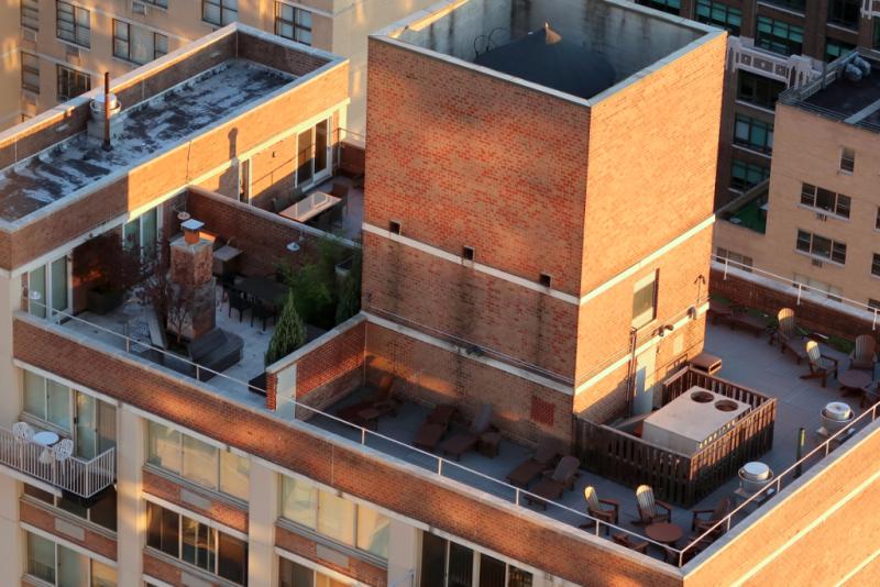 Rooftop New York city