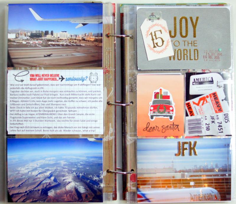"December Daily 2015 Dezembertagebuch 6x12"""