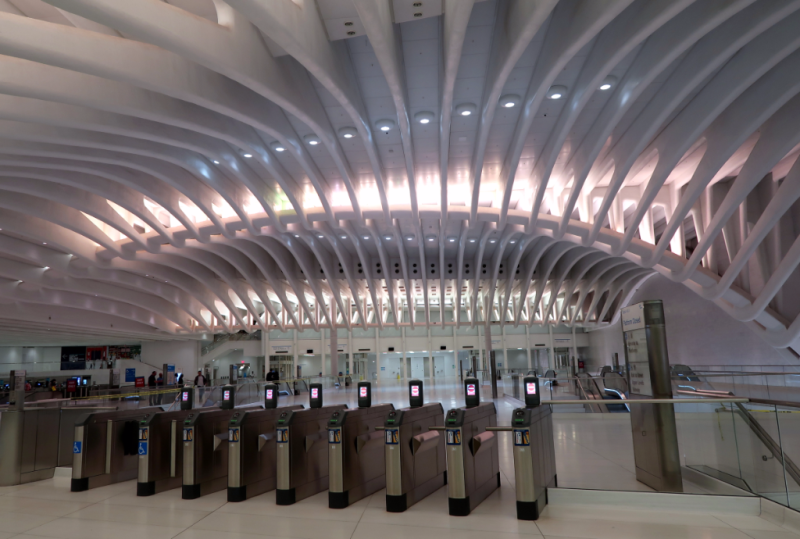Oculus Bahnhof One World Trade Center New York City