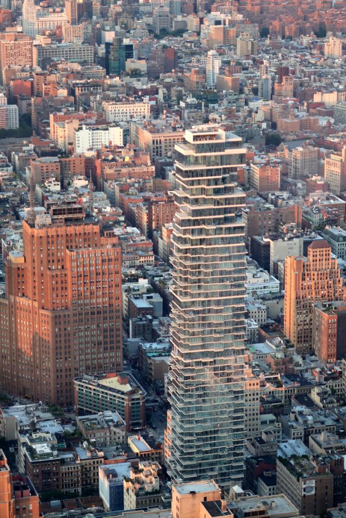 Blick auf Midtown Manhattan vom One World Observatory New York City