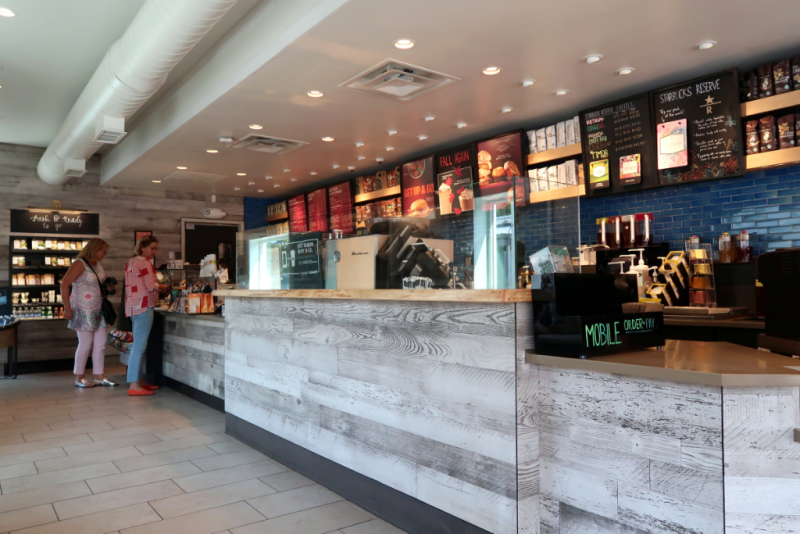 Road Trip Hamptons NY Southampton Starbucks