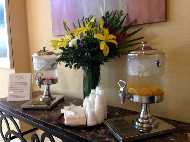 Lobby Marriott Hotel Charleston
