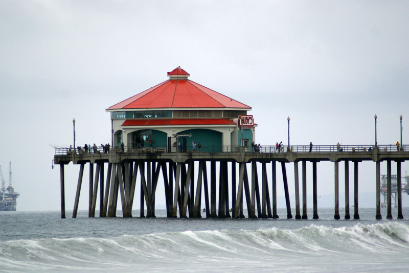 Pier in Huntington Beach Kalifornien