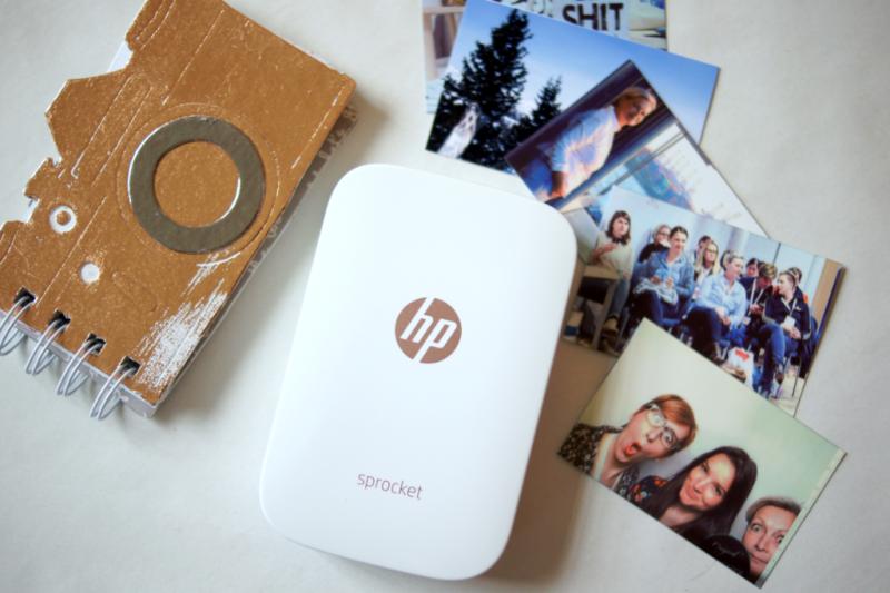 HP Sprocket mobile printer pictures