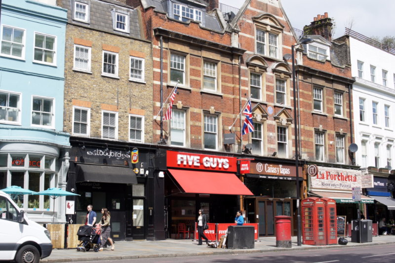 Five Guys Burger London