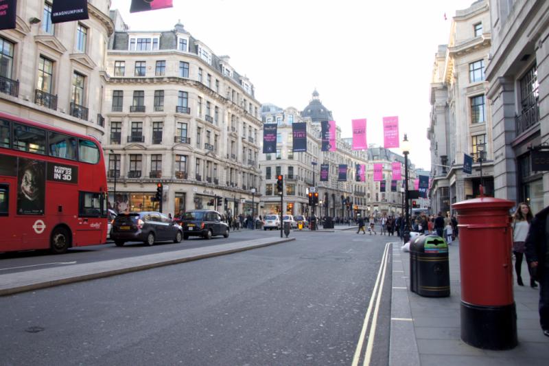 Regent Street London UK