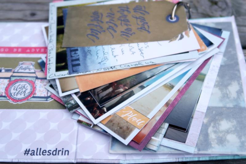 Scrapbooking Mini Tag Book Lomography