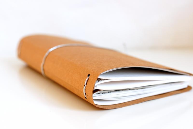 DIY Traveler's Notebook aus SnapPap