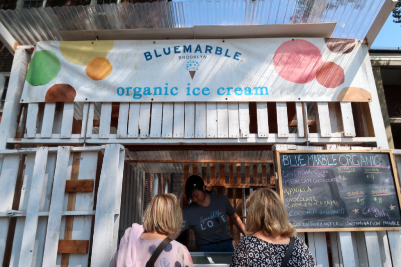 New York Governers Island Street Food Festival Blue Marble Ice Cream Factory