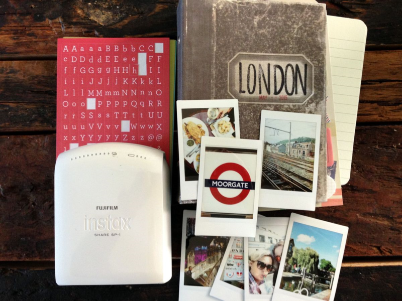 Instax Share Travel Journal
