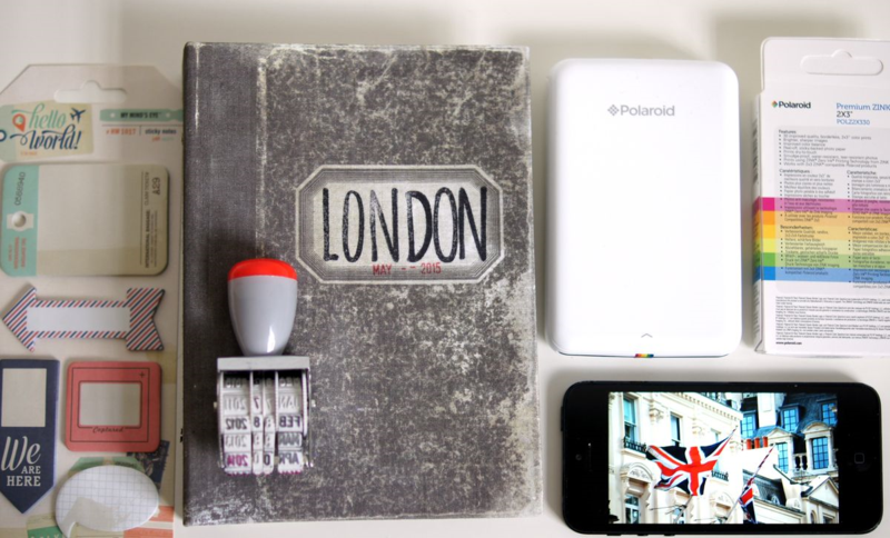 Polaroid Zip Travel Journal