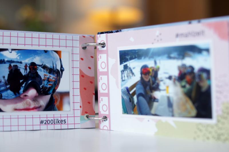 Sizzix Filmstrip Mini Scrapbooking Album