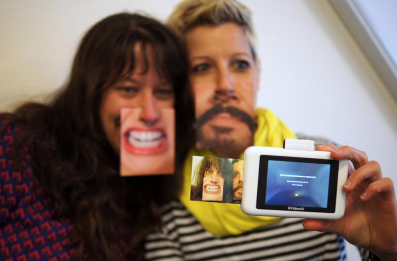 Polaroid Snap Touch Kamera Test