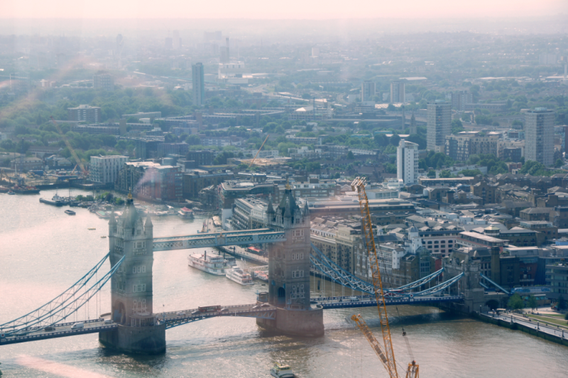 Tower Bridge view from Skygarden London