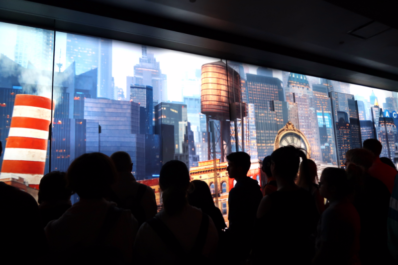 See forever Theatre One World Observatory New York City