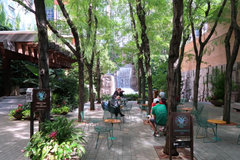 Greenacre Park New York City