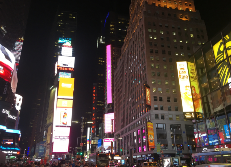 Times Square New York City Nights